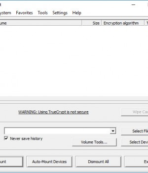TrueCrypt Ekran Görüntüleri - 2