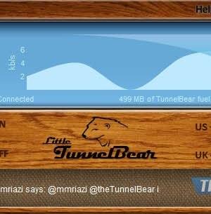 TunnelBear Ekran Görüntüleri - 1