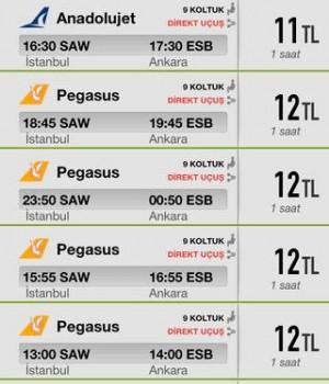 Uçak Bileti Ekran Görüntüleri - 5