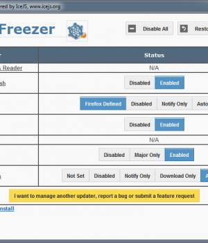 Update Freezer Ekran Görüntüleri - 1