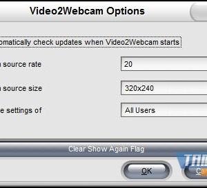 Video2Webcam Ekran Görüntüleri - 1