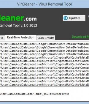 VirCleaner Ekran Görüntüleri - 2