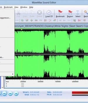 WaveMax Sound Editor Ekran Görüntüleri - 1