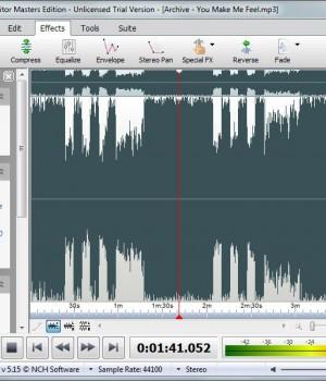 WavePad Sound Editor Ekran Görüntüleri - 1