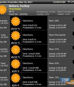 Weather Agent Ekran Görüntüleri - 3
