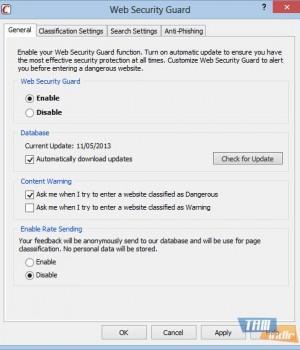 Web Security Guard Ekran Görüntüleri - 2