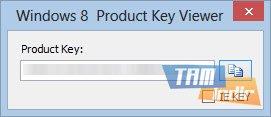 Windows 8 Product Key Viewer Ekran Görüntüleri - 1