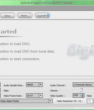 WinX Free DVD to MP4 Ripper Ekran Görüntüleri - 2