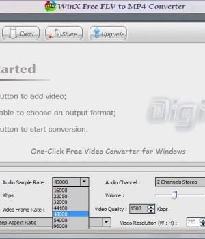 WinX Free FLV to MP4 Converter Ekran Görüntüleri - 3