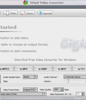WinX Video Converter Ekran Görüntüleri - 4