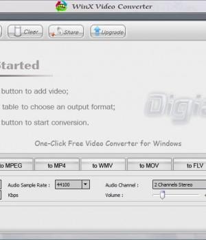 WinX Video Converter Ekran Görüntüleri - 3