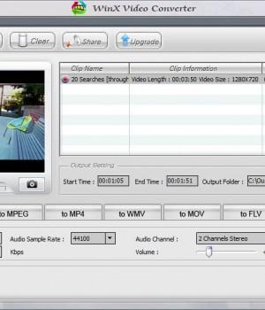 WinX Video Converter Ekran Görüntüleri - 1