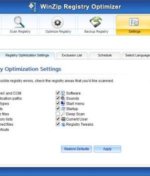 WinZip Registry Optimizer Ekran Görüntüleri - 2