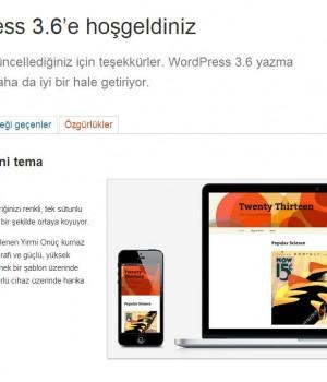 WordPress Türkçe Ekran Görüntüleri - 1