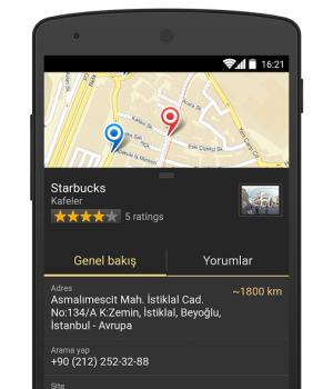 Yandex.Haritalar Ekran Görüntüleri - 4