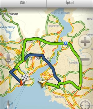 Yandex.Navigasyon Ekran Görüntüleri - 5