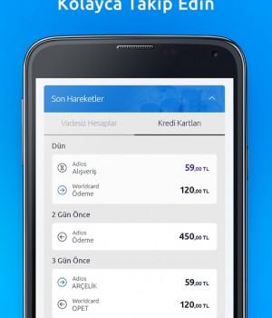 Yapı Kredi Mobil Bankacılık Ekran Görüntüleri - 1