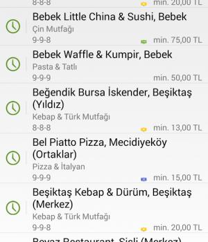 Yemeksepeti Ekran Görüntüleri - 6