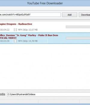 YouTube Free Downloader Ekran Görüntüleri - 3
