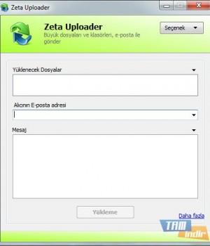 Zeta Uploader Ekran Görüntüleri - 1