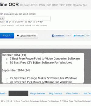 Free Online OCR Ekran Görüntüleri - 4