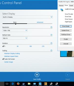 Intel Graphics Driver Ekran Görüntüleri - 1