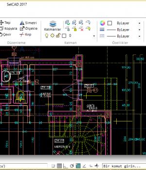SetCAD Ekran Görüntüleri - 2