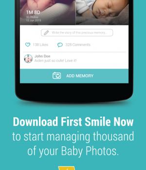 First Smile Ekran Görüntüleri - 1