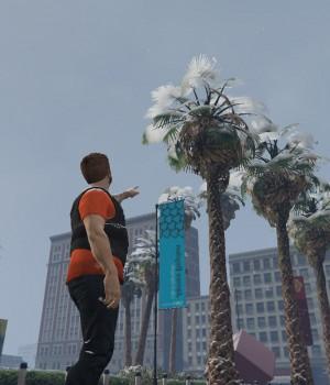 GTA 5 Snow Mod Ekran Görüntüleri - 2