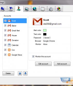 Scott's Gmail Alert Ekran Görüntüleri - 2