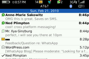 WhatsApp Messenger Ekran Görüntüleri - 1