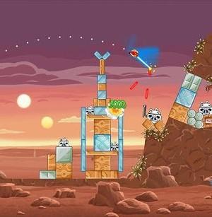 Angry Birds Star Wars Ekran Görüntüleri - 3