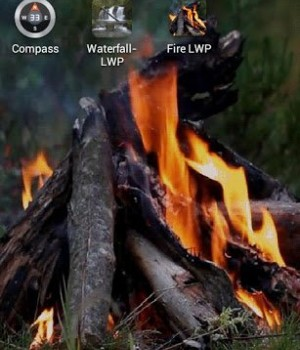 Ateş Canlı Duvar Kağıdı Ekran Görüntüleri - 1