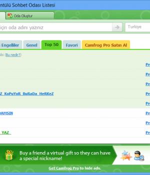 Camfrog Video Chat Ekran Görüntüleri - 1