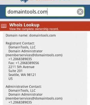 DomainTools Whois Lookup Ekran Görüntüleri - 2
