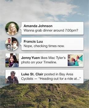 Facebook Home Ekran Görüntüleri - 5