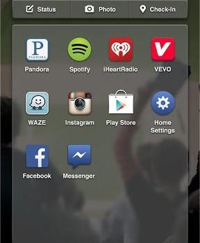 Facebook Home Ekran Görüntüleri - 2