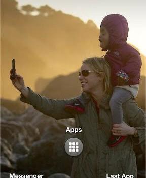 Facebook Home Ekran Görüntüleri - 1