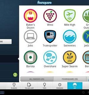 Foursquare for Sony Tablet Ekran Görüntüleri - 2
