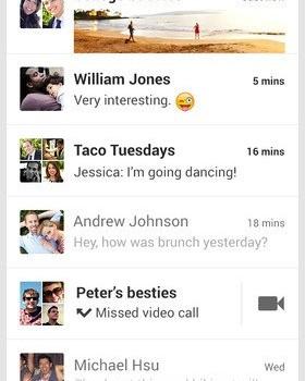 Hangouts Ekran Görüntüleri - 4