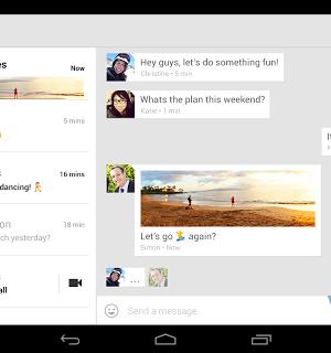 Hangouts Ekran Görüntüleri - 3