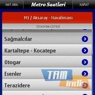 Metro Saatleri - Nokia Ekran Görüntüleri - 3