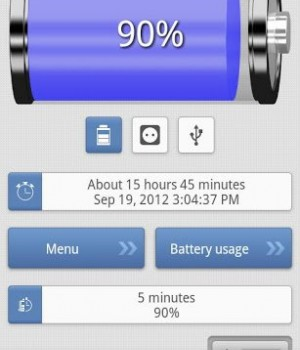 Pil Göstergesi Ekran Görüntüleri - 5
