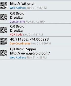 QR Droid Ekran Görüntüleri - 3