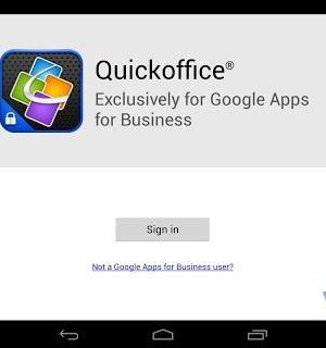 Quickoffice Ekran Görüntüleri - 6