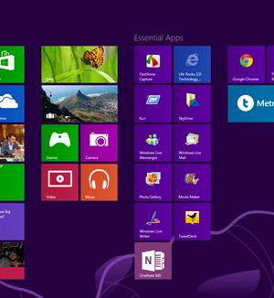 Windows 8 Enterprise Deneme Sürümü Ekran Görüntüleri - 1
