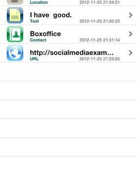 Zapper QR Code Scanner Ekran Görüntüleri - 1