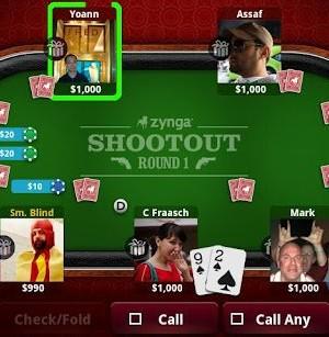 Zynga Poker Ekran Görüntüleri - 1