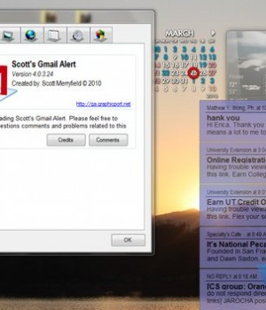 Scott's Gmail Alert Ekran Görüntüleri - 1
