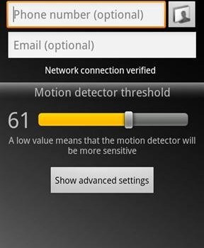 Motion Detector Pro Ekran Görüntüleri - 2